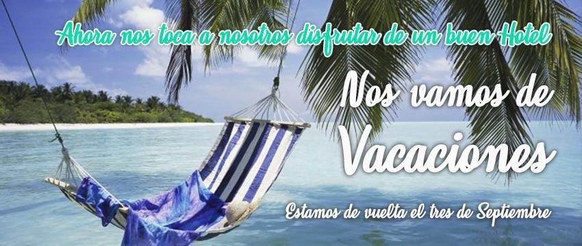 Vacaciones hasta el 3 de Septiembre